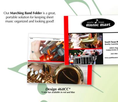 Marching Bandfolders - Bandfolder Press